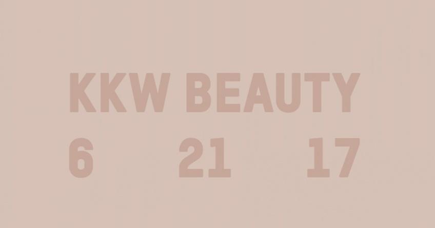 Kim Kardashian dévoile les premières images de sa nouvelle marque de make-up KKW