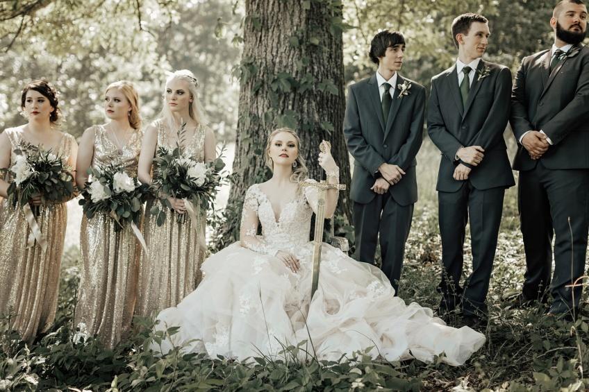 Vous allez être dingue de ce mariage sur le thème de Game of Thrones !