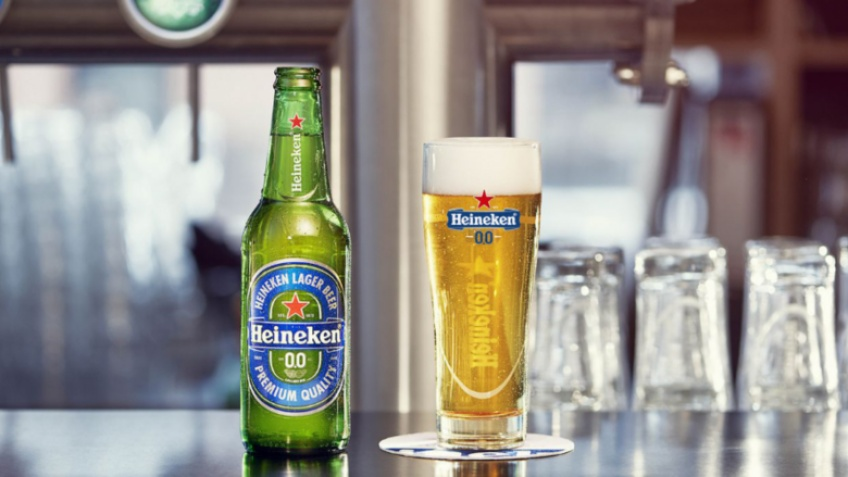 Heineken lance sa bière sans alcool pour trinquer à toute heure de la journée