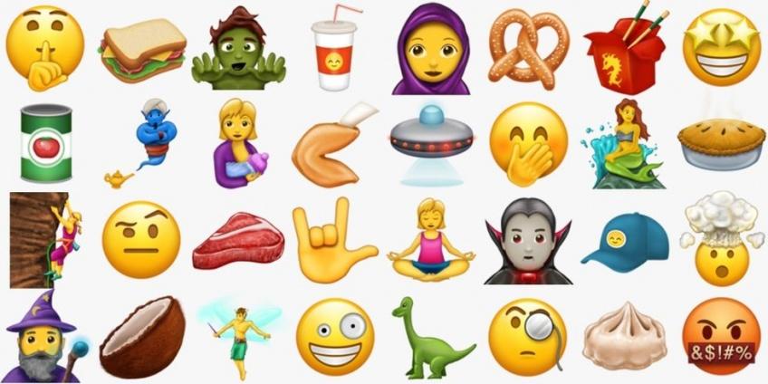 #NEWS : 56 nouveaux Emojis vont débarquer cet été !