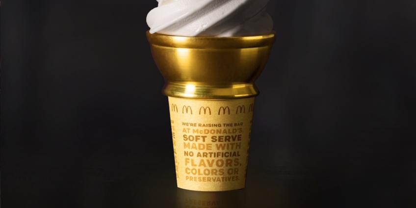 Mcdonald's offre un cône VIP pour de la glace gratuite à vie !