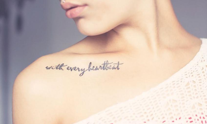 30 phrases inspirantes à se faire tatouer