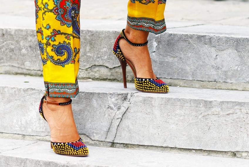 45 sublimes paires de chaussures colorées pour enchanter ses pieds !