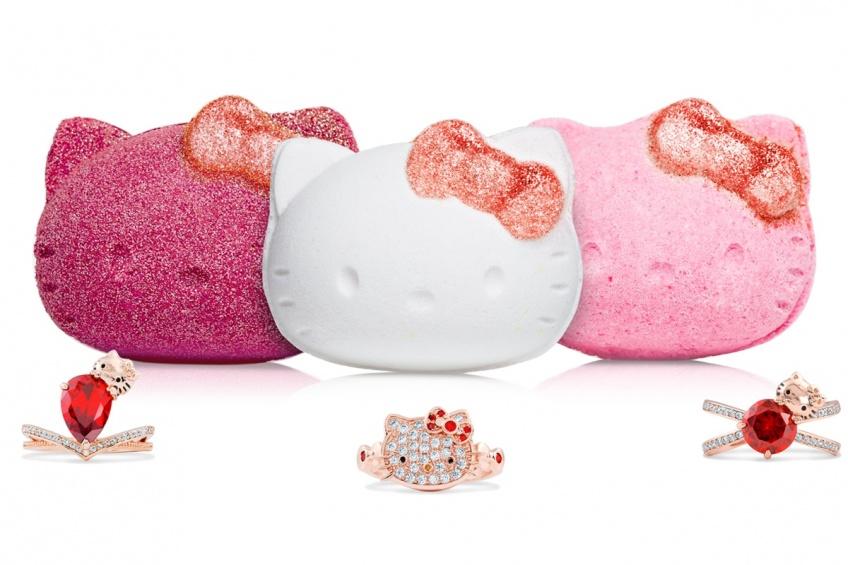ALERTE : Les nouvelles boules de bain Hello Kitty très surprenantes