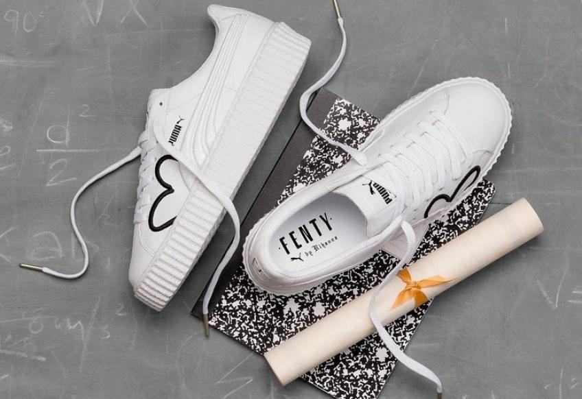 On craque pour les nouvelles sneakers ultra-cute de Rihanna pour Fenty Puma