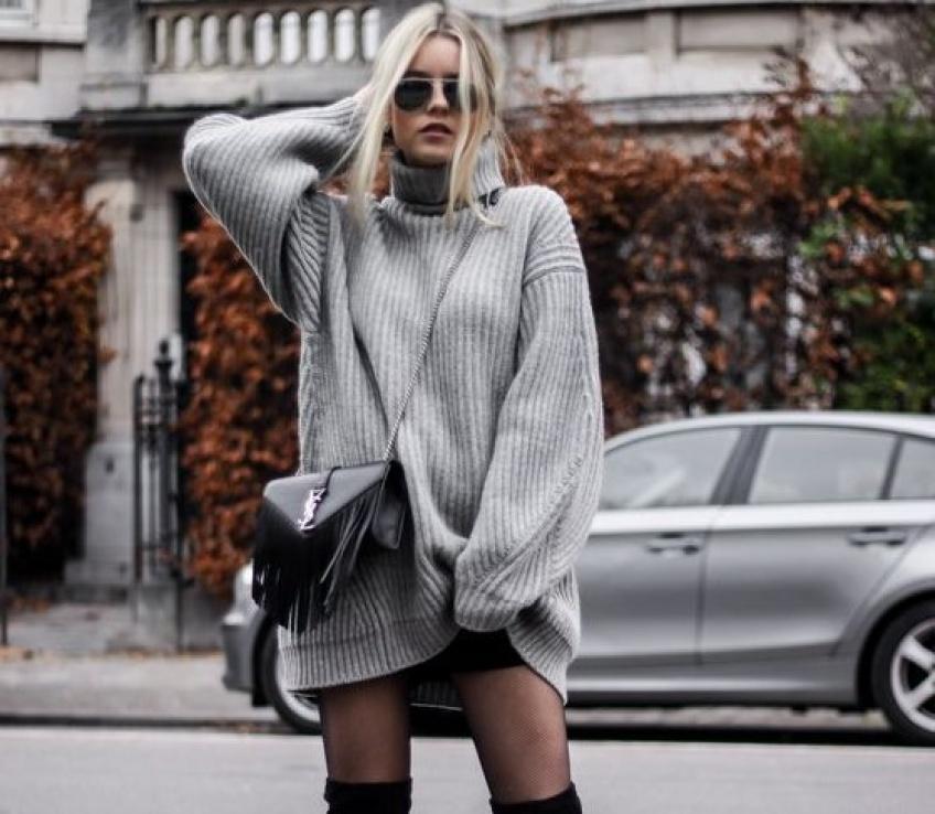 30 magnifiques robe-pulls pour affronter l'hiver avec style