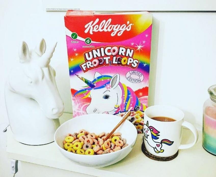 Alerte! Il existe maintenant les céréales licorne et vous allez adorer!