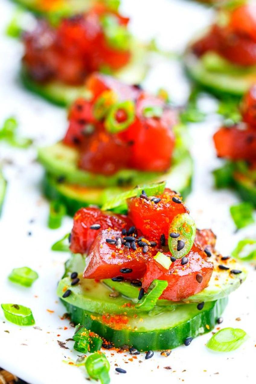 Les meilleures recettes de cucumber toast pour un apéro ultra healthy!