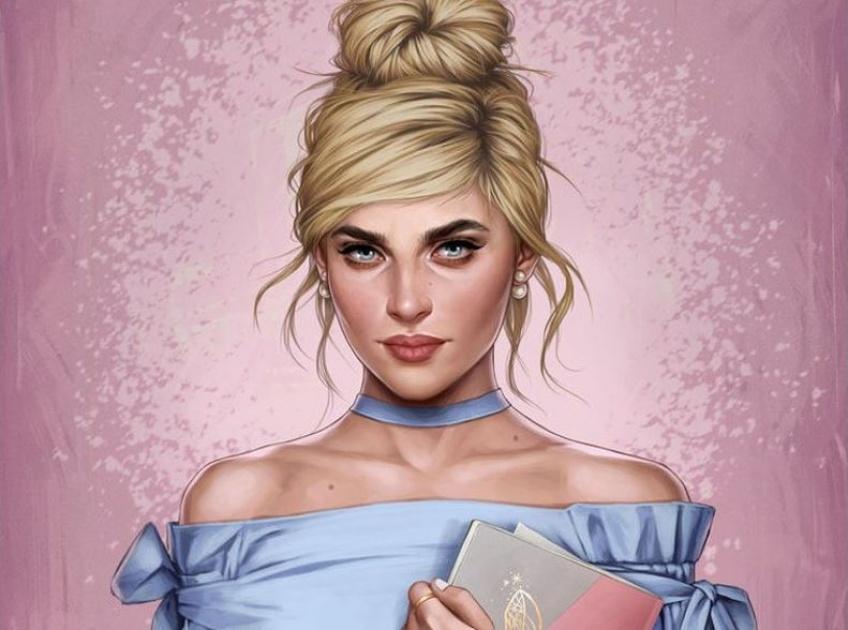 Cette artiste réinterprète les princesses Disney à l'ère moderne