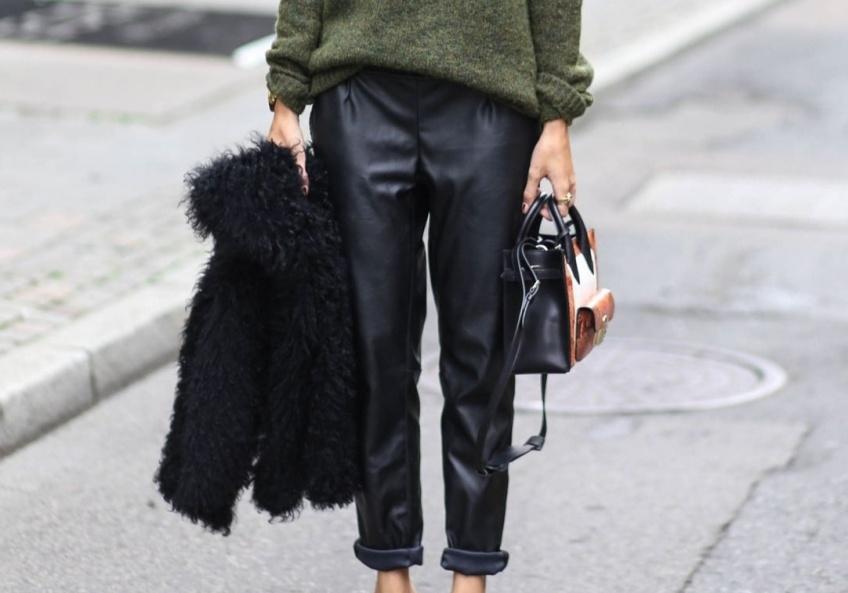 30 sublimes pantalons en cuir pour être à la fois sexy et tendance!