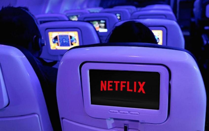 Alerte ! On pourra bientôt binge-watcher sur Netflix dans l'avion !