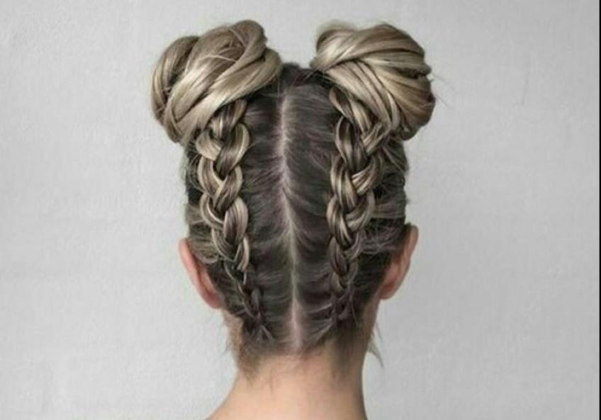 Le braids-bun est la nouvelle coiffure tendance de la saison !