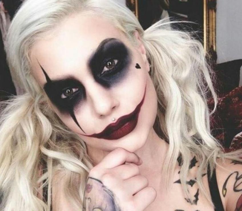 Halloween arrive et les premiers makeup déjantés aussi !
