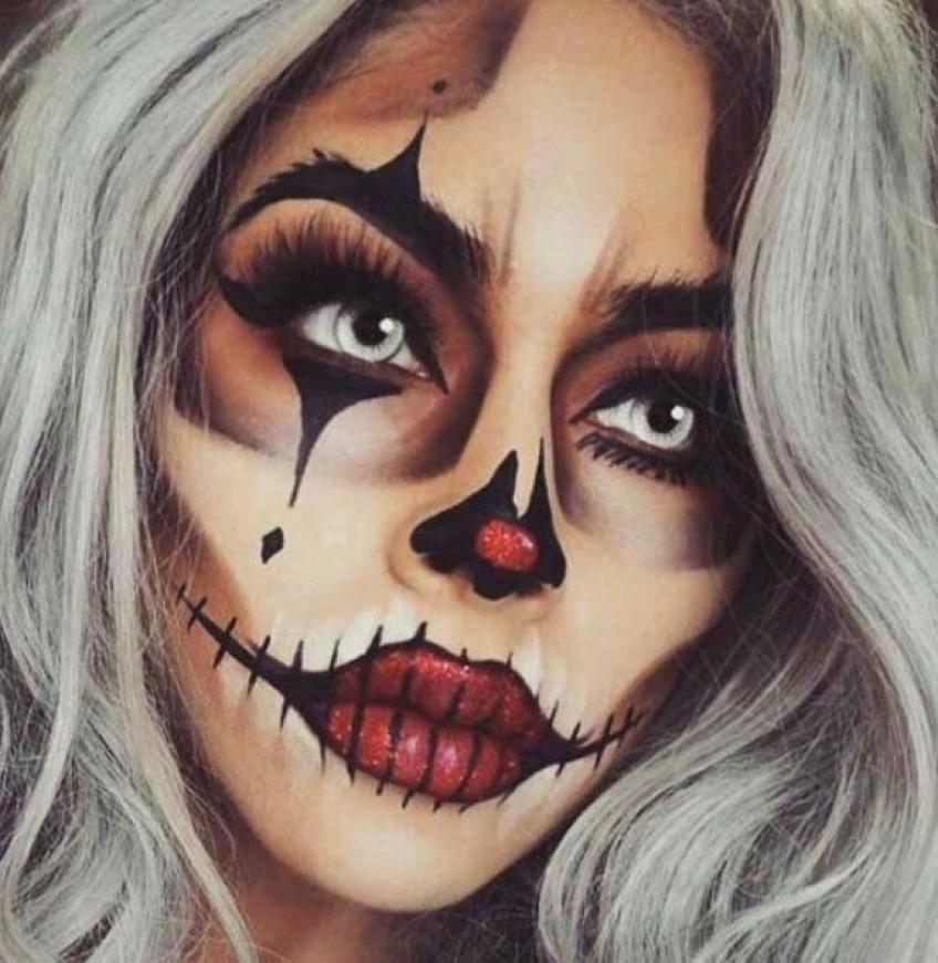 10 tutos pour réussir votre make-up d'Halloween