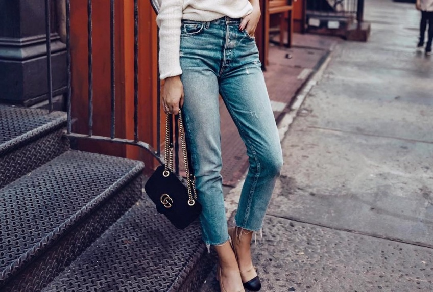 40 jeans taille haute canon pour marquer votre taille de guêpe !