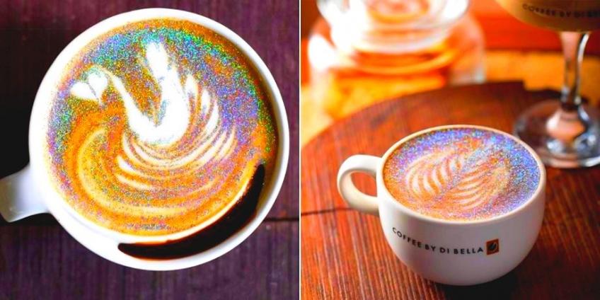 #News : Le Glitter Cappuccino va vous en mettre plein la vue !