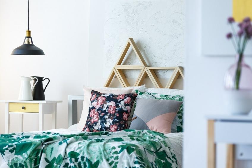 Une jolie tête de lit pour faire de beaux rêves !