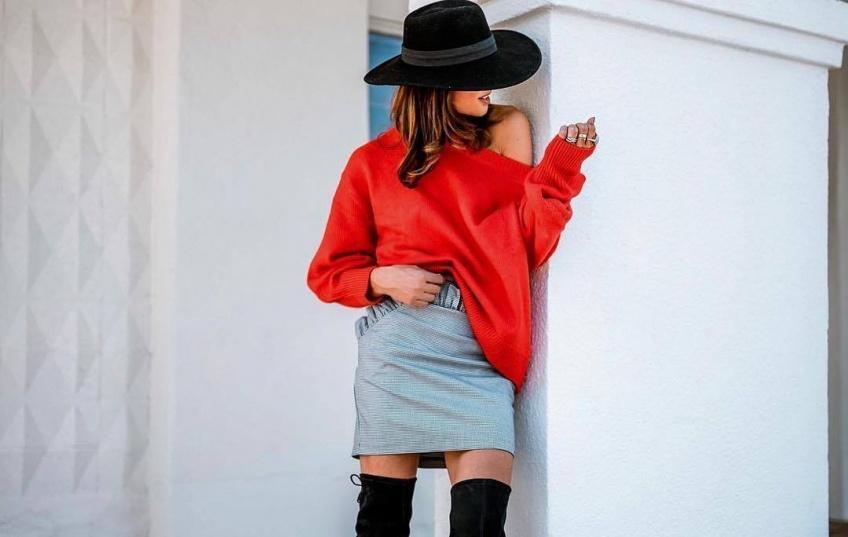 Quoi porter ce weekend? 5 looks canon pour porter une jupe quand il fait froid