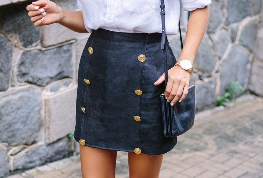 #DIY : Faites de votre vieille jupe la pièce la plus stylée de votre garde-robe