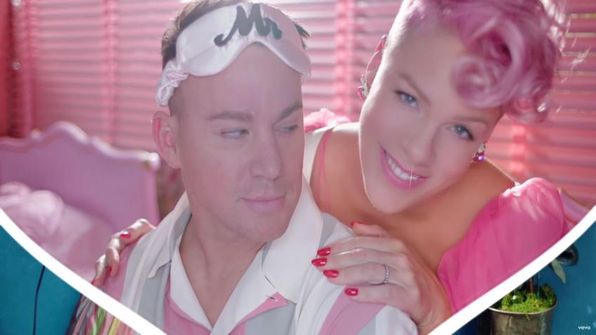 Alerte ! Vous allez adorer le nouveau clip de Pink avec Channing Tatum en guest !