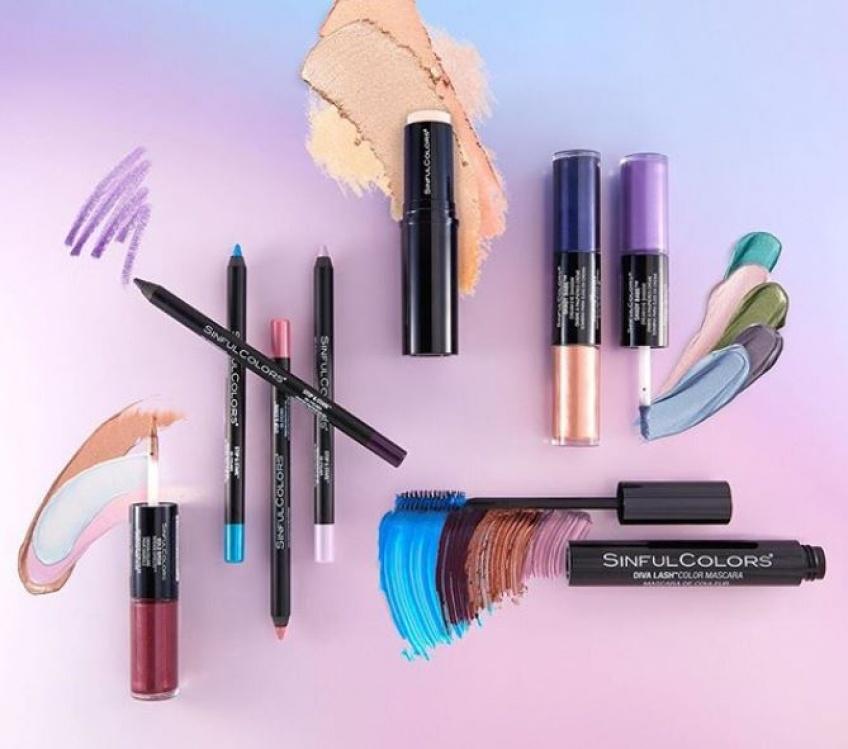 SinfulColors lance une ligne de maquillage arc-en-ciel à moins de 7€