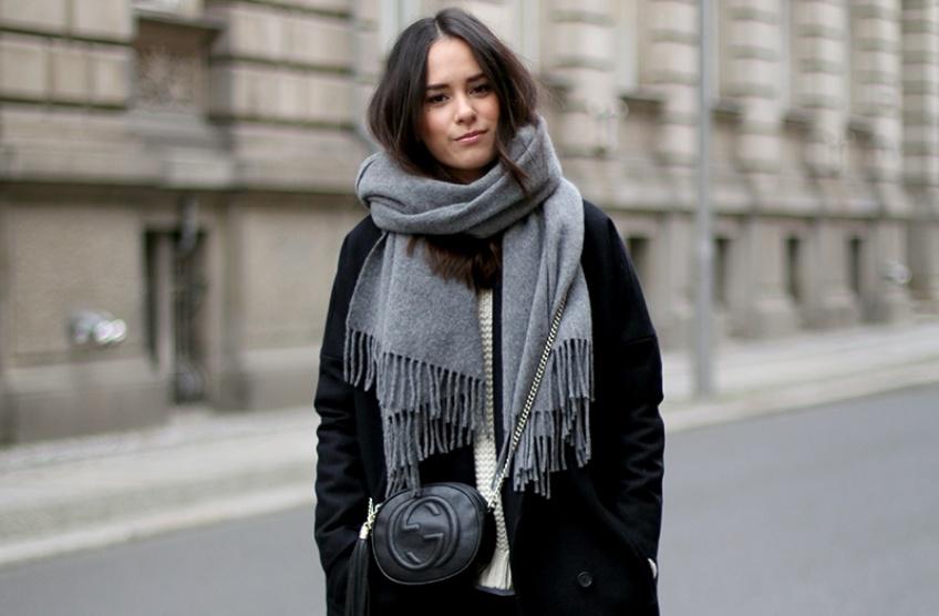 #HTW : 5 superbes façons de porter son écharpe cet automne / hiver !