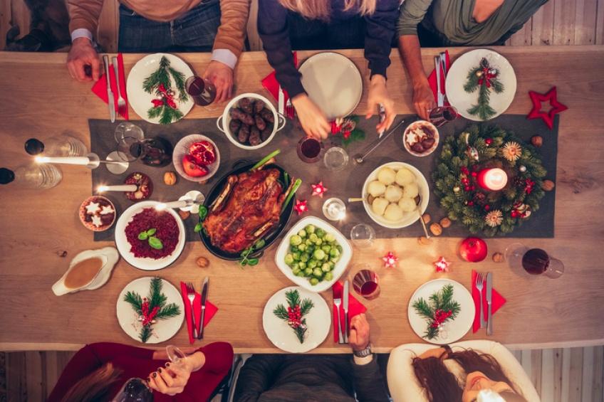 10 astuces pour ne pas prendre trop de poids durant les fêtes de fin d'année
