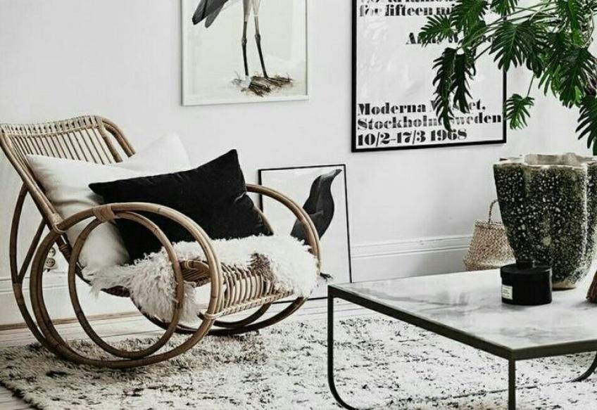 Tendance rocking-chair : le plus confortable des fauteuils s'offre une nouvelle jeunesse !