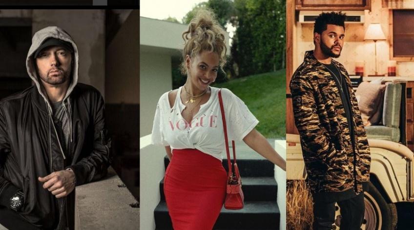 Alerte ! Eminem, Beyoncé et The Weeknd sont partis pour être à l'affiche de Coachella !
