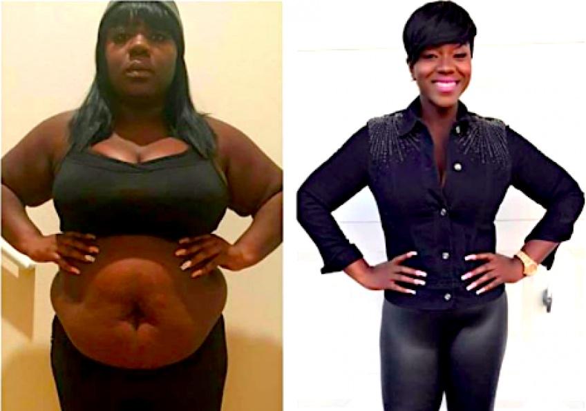 Elle perd 45 kilos en faisant du sport 2 fois par jour