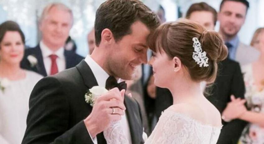 La robe de mariée d'Anastasia se dévoile dans le clip de la bande originale de 50 Nuances plus claires