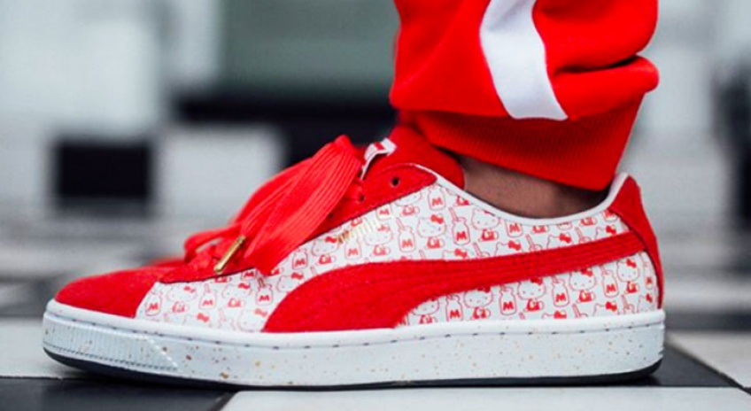 Hello Kitty x Puma, une collab' pour des sneakers ultra-stylées !