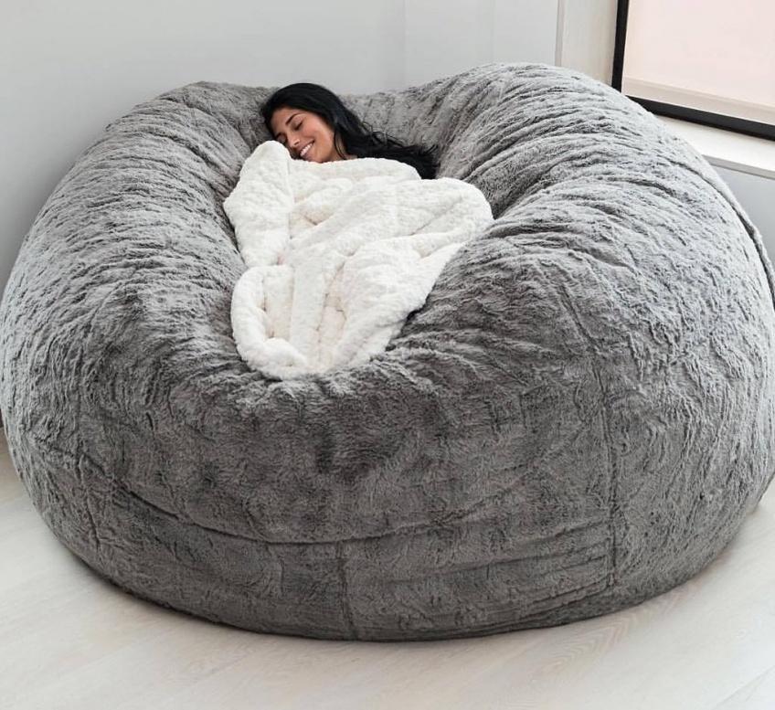 Alerte : À toutes les fans de sieste, voici un pouf qui vous fera faire de beaux rêves !