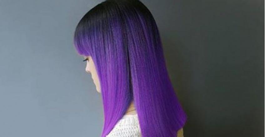 Un rayon ultra-violet se dépose sur nos cheveux !