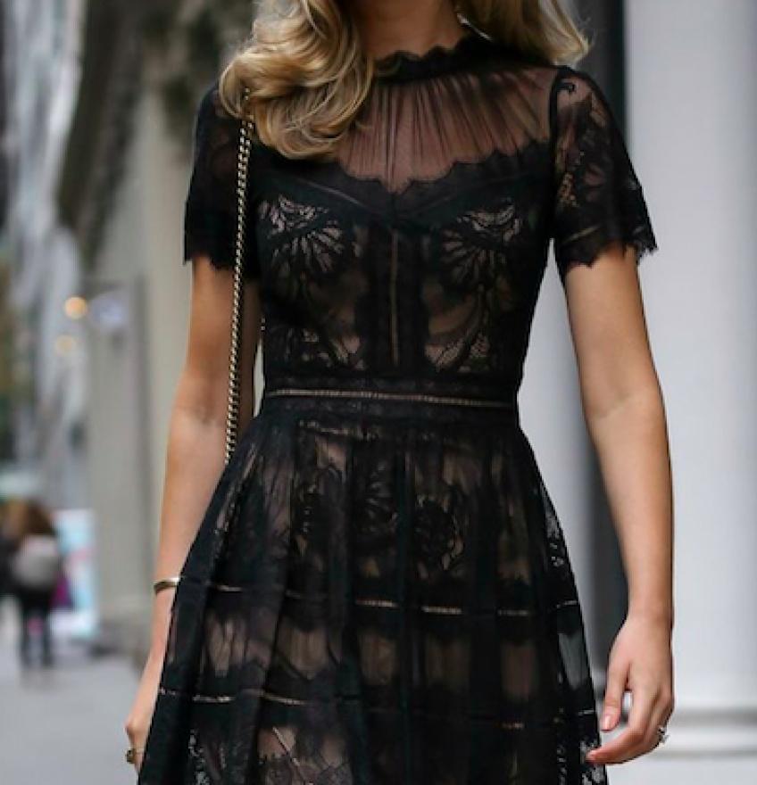 25 sublimes robes noires en dentelle pour être ultra-canon !