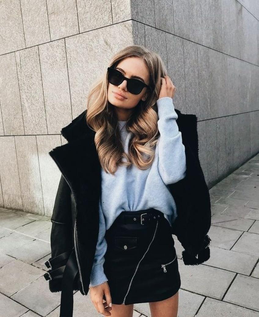 30 magnifiques jupes noires pour upgrader votre look !