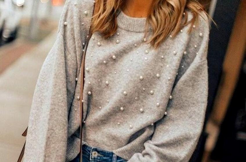 #DIY : Apprenez à faire votre pull perlé, vous-même !