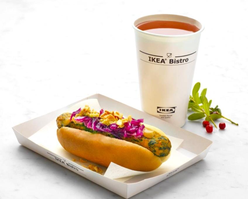 Le Hot Dog végétarien débarque chez IKEA !