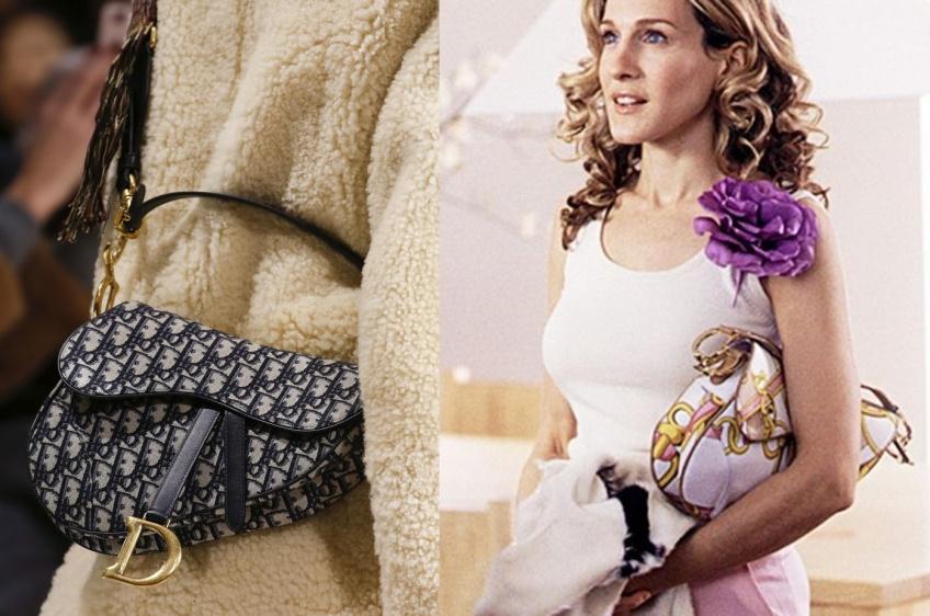 Dior signe le retour d'un sac culte des années 2000 et nous propulse dans Sex and the City !