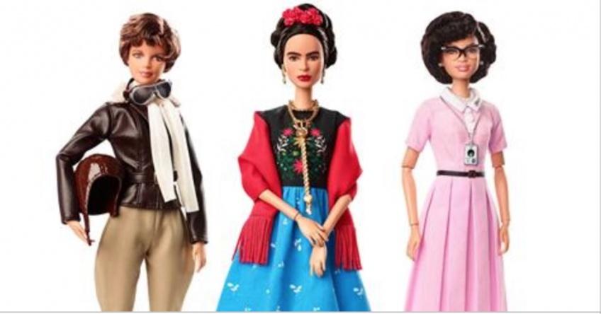 ALERTE : Frida Kalho et d'autres femmes inspirantes se transforment en Barbie pour la journée de la femme !