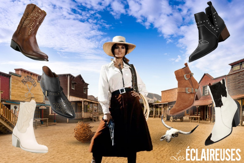 Les boots western à la Conquête de l'Ouest (et de la Fashion Sphère) !