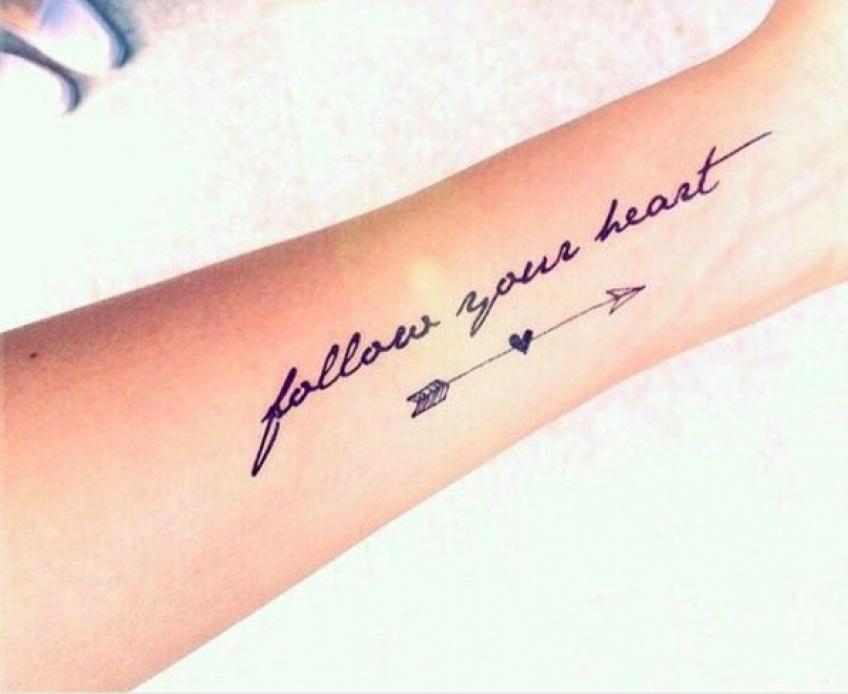 Top 20 des tatouages de citations 'mantra' trouvés sur Instagram