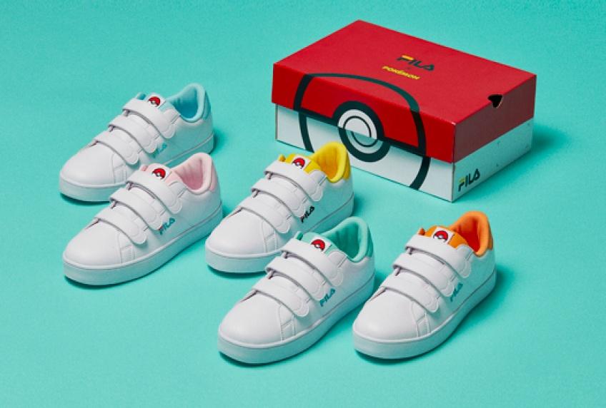 News : Fila lance une collection de baskets Pokémon et nous fait retomber en enfance !