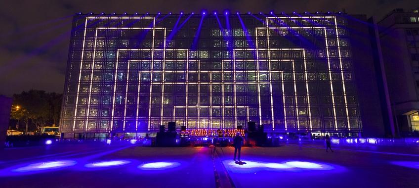 L'Institut du Monde Arabe se transforme en boîte de nuit à l'occasion d'un festival !
