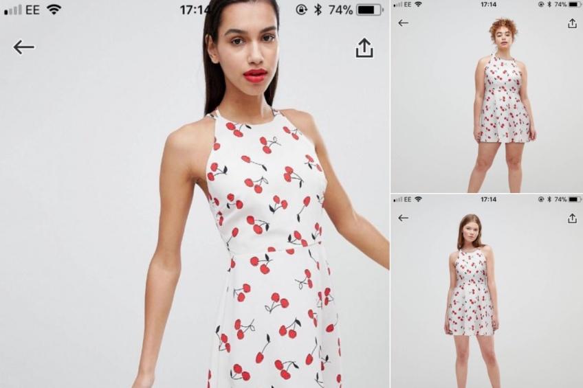 ALERTE : ASOS montre désormais les vêtements sur des mannequins de tailles différentes !