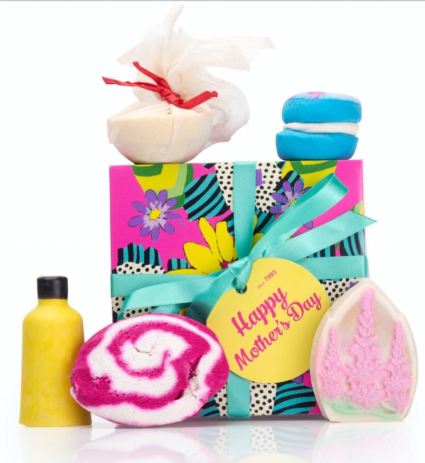 Lush prépare une collection pour le bain spéciale fête des mères !