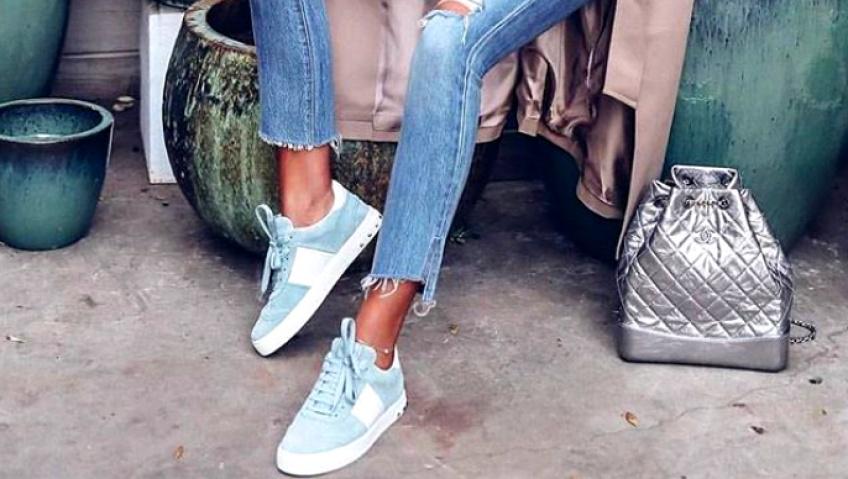Les baskets pastel, les chaussures les plus désirables du moment !