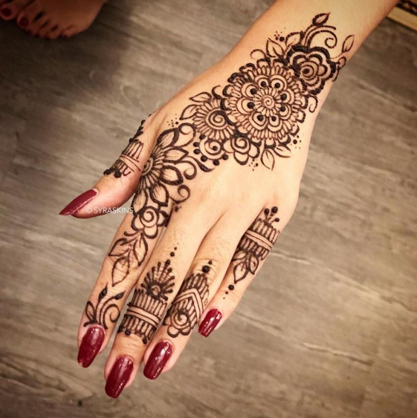 Le henné, une super idée à piquer pour son mariage