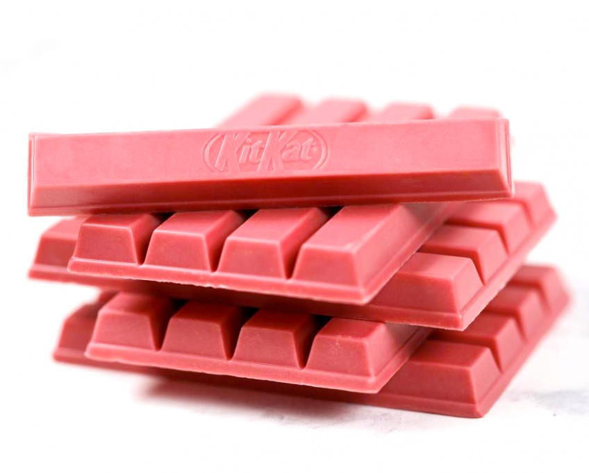 Kit Kat lance sa barre chocolatée version Rose en Europe !