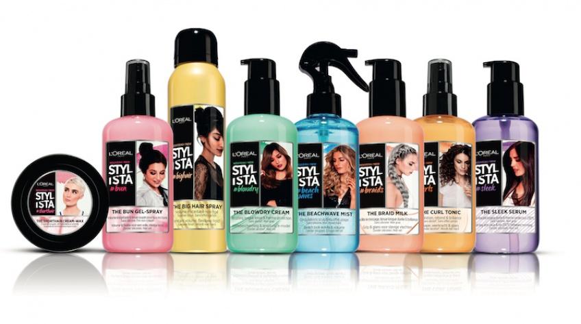 L'Oréal Paris lance sa nouvelle gamme Stylista pour coiffer toutes vos envies !